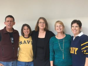 """USNA Women's SIG Book Club:  The book we had picked at the end of last year was """"Traitor's Kiss"""" by Erin Beaty USNA class of 2000"""